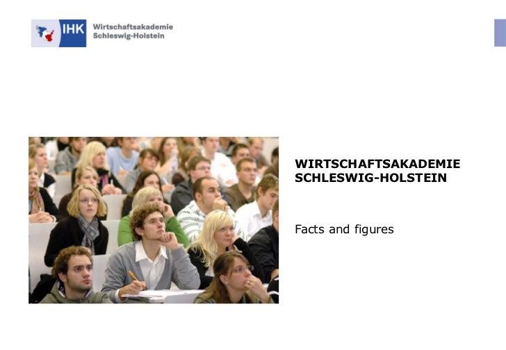 WIRTSCHAFTSAKADEMIE SCHLESWIG-HOLSTEIN Facts and figures