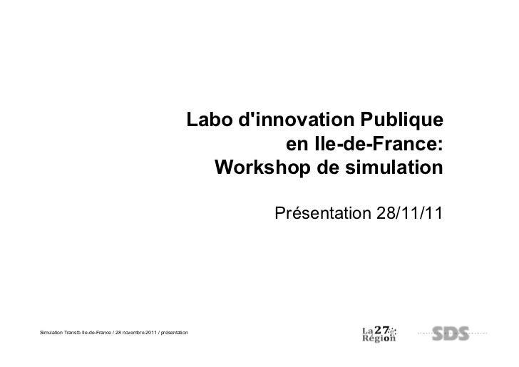 Labo dinnovation Publique                                                                           en Ile-de-France:     ...