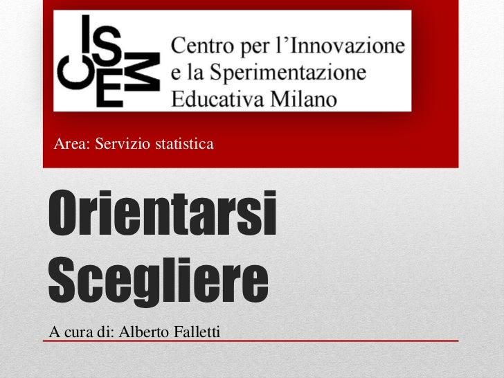 Orientamento 2012-13
