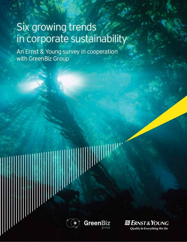 From CFO trends Six growing                     involvement toemployee engagement: in corporate sustainabilitysix key tren...
