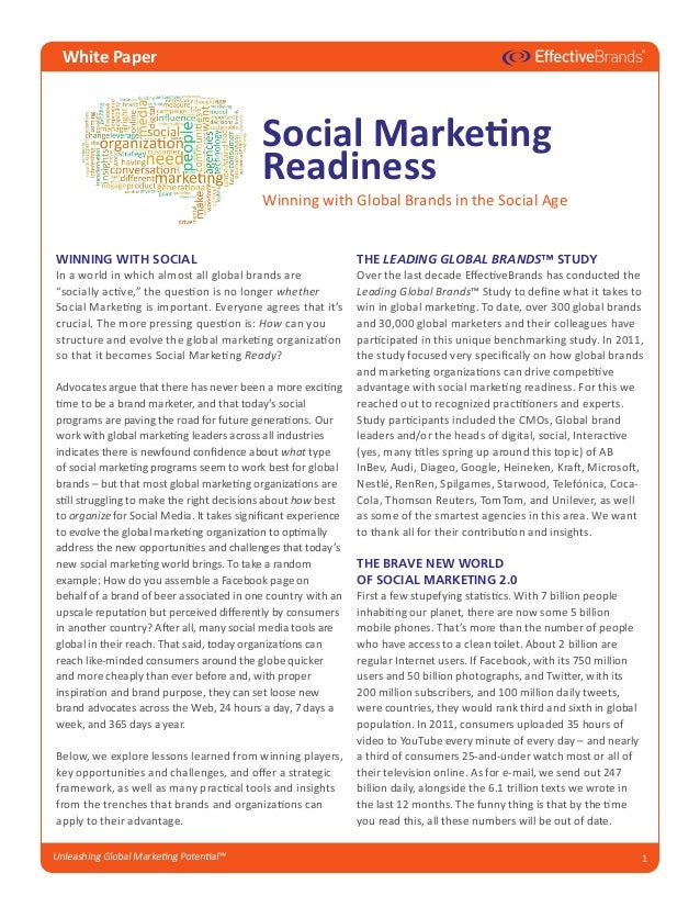 111215 EffectiveBrands Social Marketing Readiness whitepaper