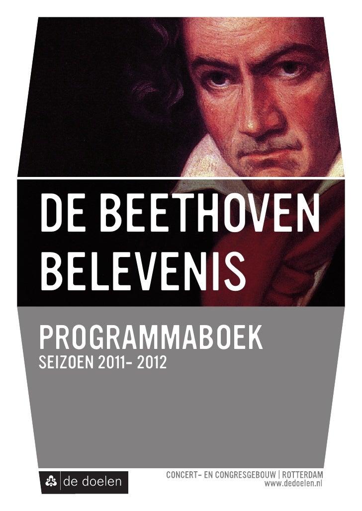 De Beethoven Belevenis 2011