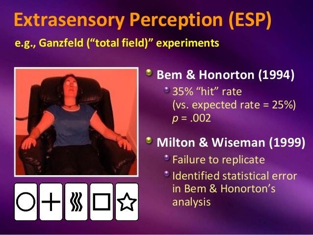 essay on extrasensory perception