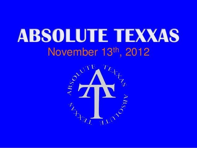November 13th GA Meeting