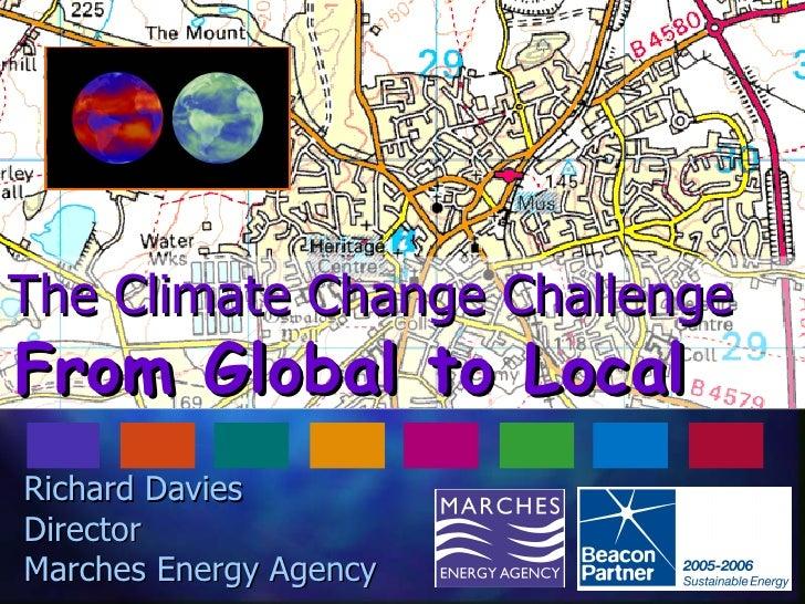 Oswestry Energy Fair - Richard Davies Marches Energy Agency