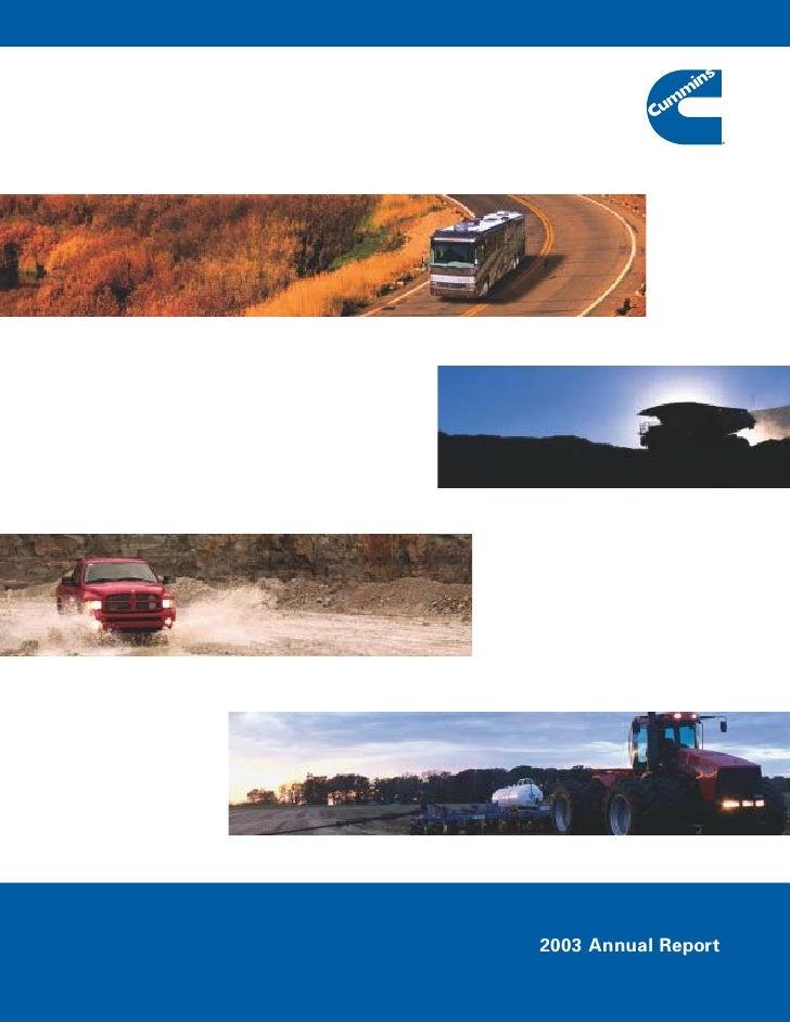 2003 Annual Report