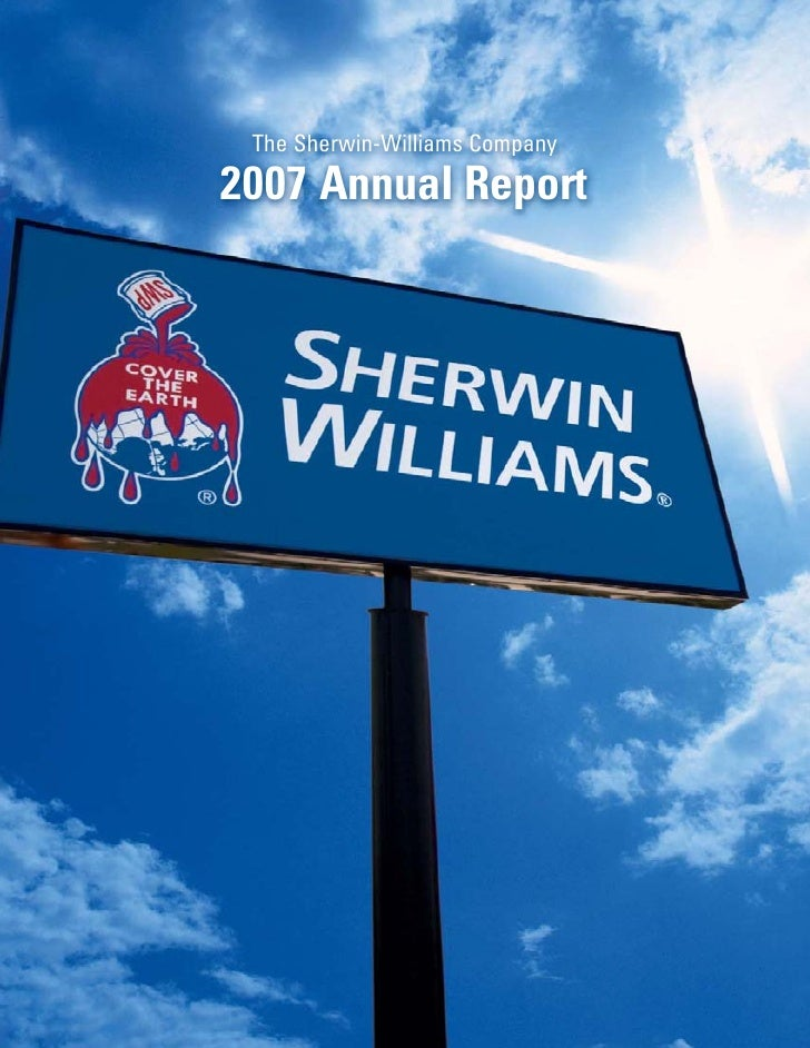 The Sherwin-Williams Company  2007 Annual Report