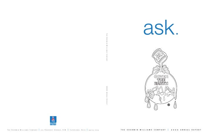 ask                                           2000 THE   SHERWIN-WILLIAMS   COMPANY              ANNUAL   REPORT          ...
