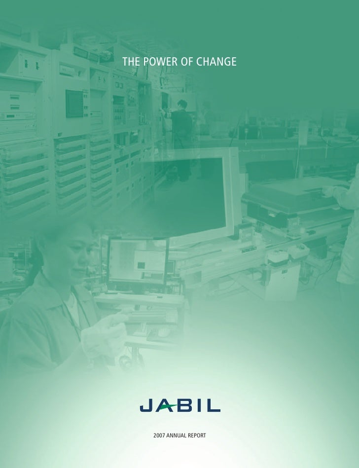 THE POWER OF CHANGE          2007 ANNUAL REPORT