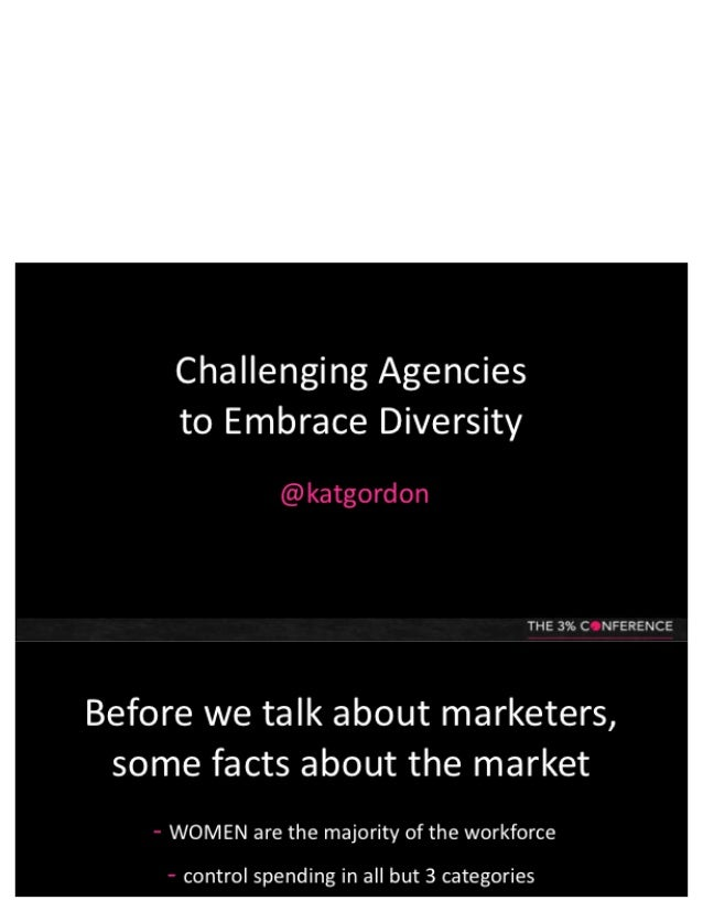 Challenging Agencies to Embrace Diversity