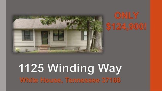 $124,900-2BR/3BA Ranch FOR SALE BY OWNER, White House, TN