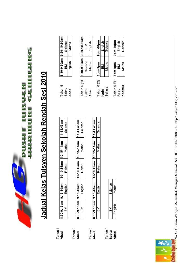 Schedule2010