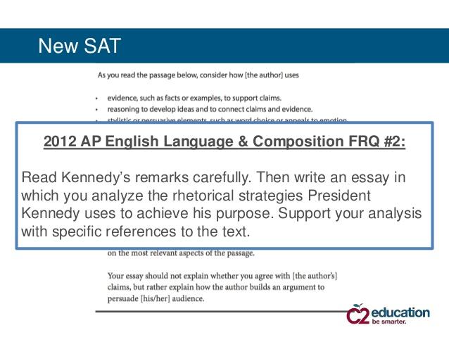 ap english language rhetorical analysis essay