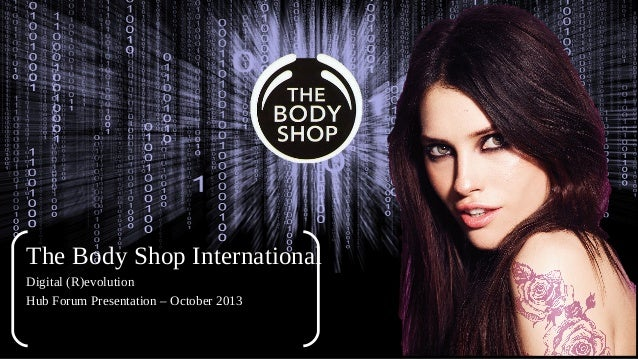 Esohe Omoruyi - The Body Shop International PLC - HUBFORUM Paris 2013