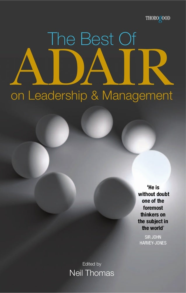 the-best-of-adair-on-leadership-and-management