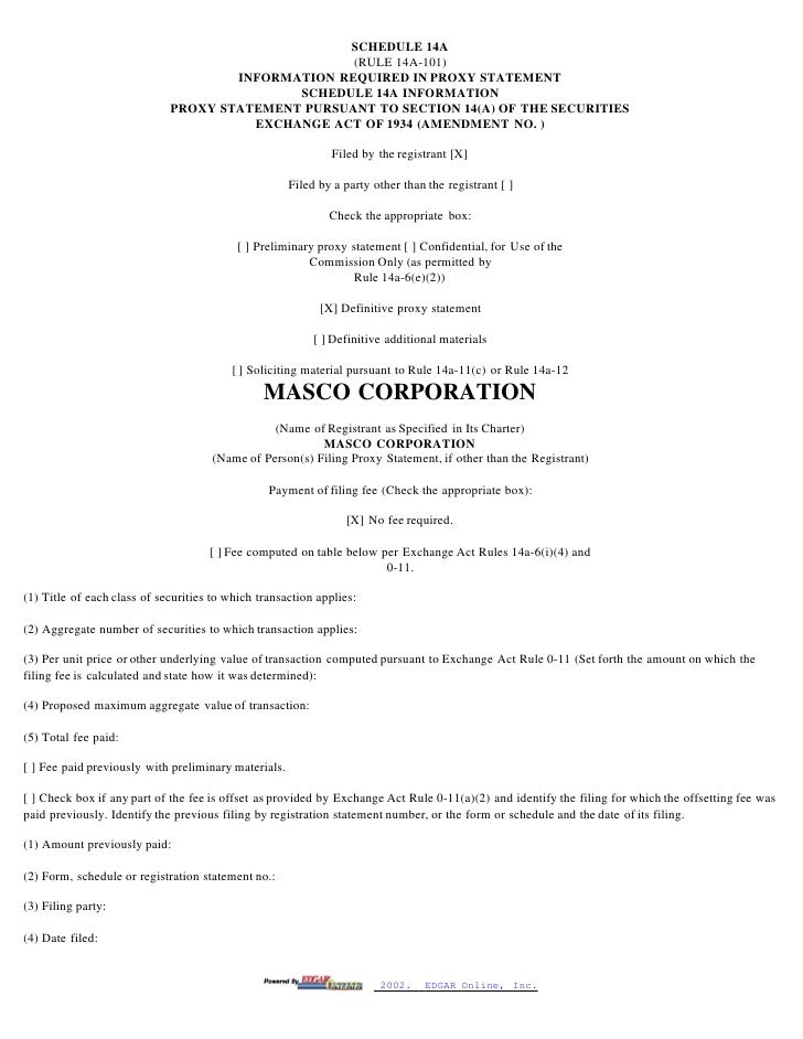 SCHEDULE 14A                                                    (RULE 14A-101)                                      INFORM...