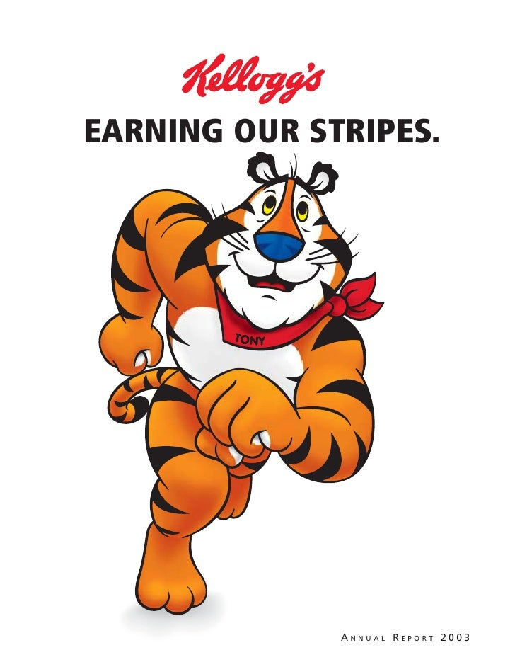 EARNING OUR STRIPES.                   ANNUAL REPORT 2003