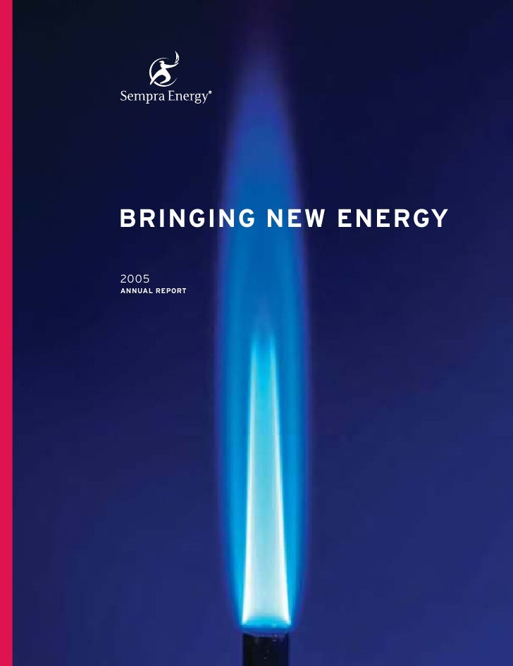BRINGING NEW ENERGY  2005 ANNUAL REPORT