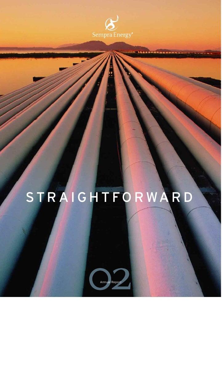 sempra energy 2002 Annual Report