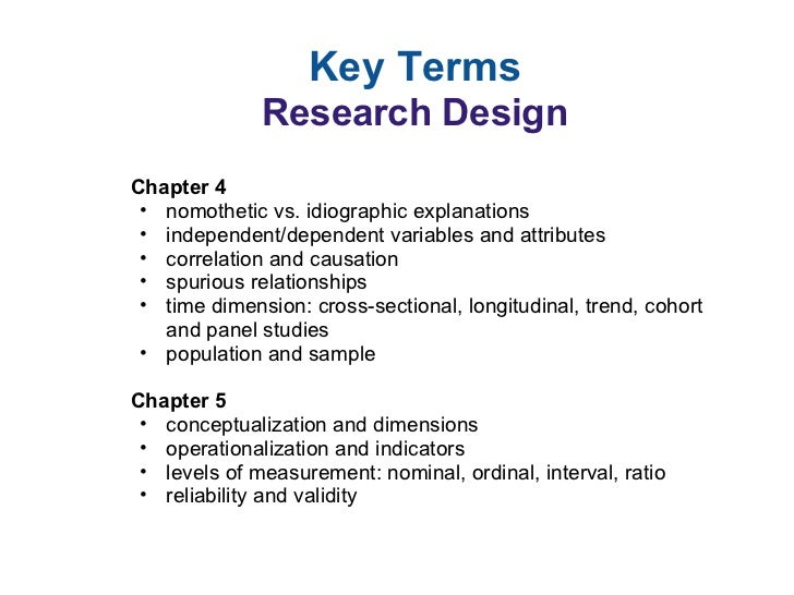 research definition of terms Writing definition of terms may 18, 2009 admin thesis writing it is important to include definition of terms in your thesis or dissertation in order to understand the key terms being used in the study.