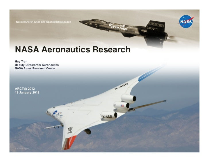 National Aeronautics and Space AdministrationNASA Aeronautics Research
