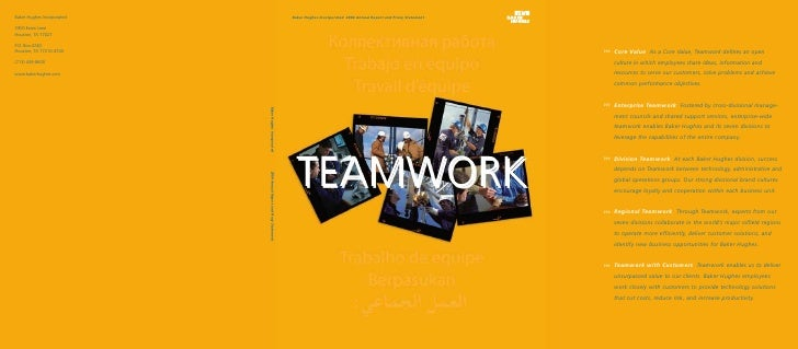 Baker Hughes Incorporated 2004 Annual Report and Proxy Statement      TEAMWORK