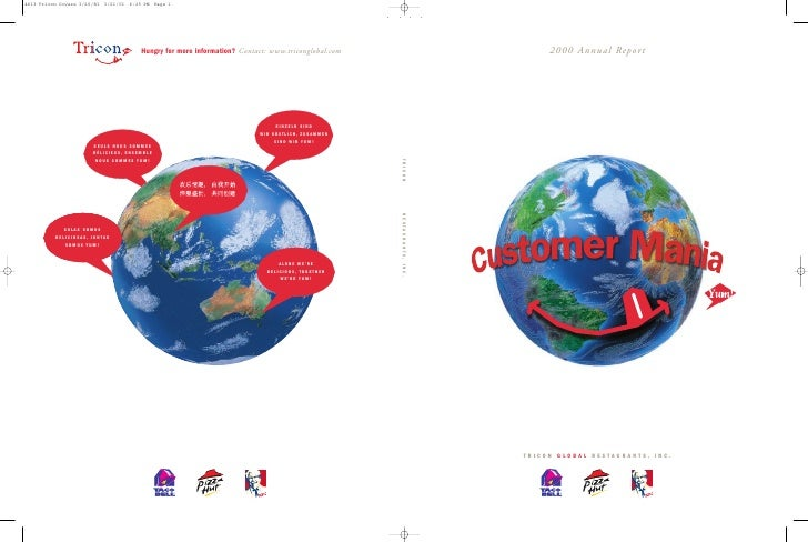 2000 Annual Repor t     TRICON GLOBAL RESTAURANTS, INC.                              TM          ®                        ...