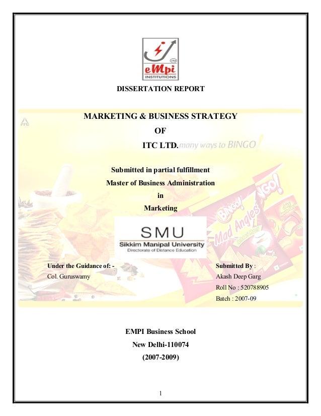 marketing strategy limited