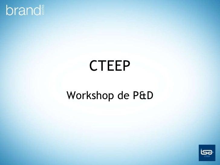 CTEEP Workshop de P&D