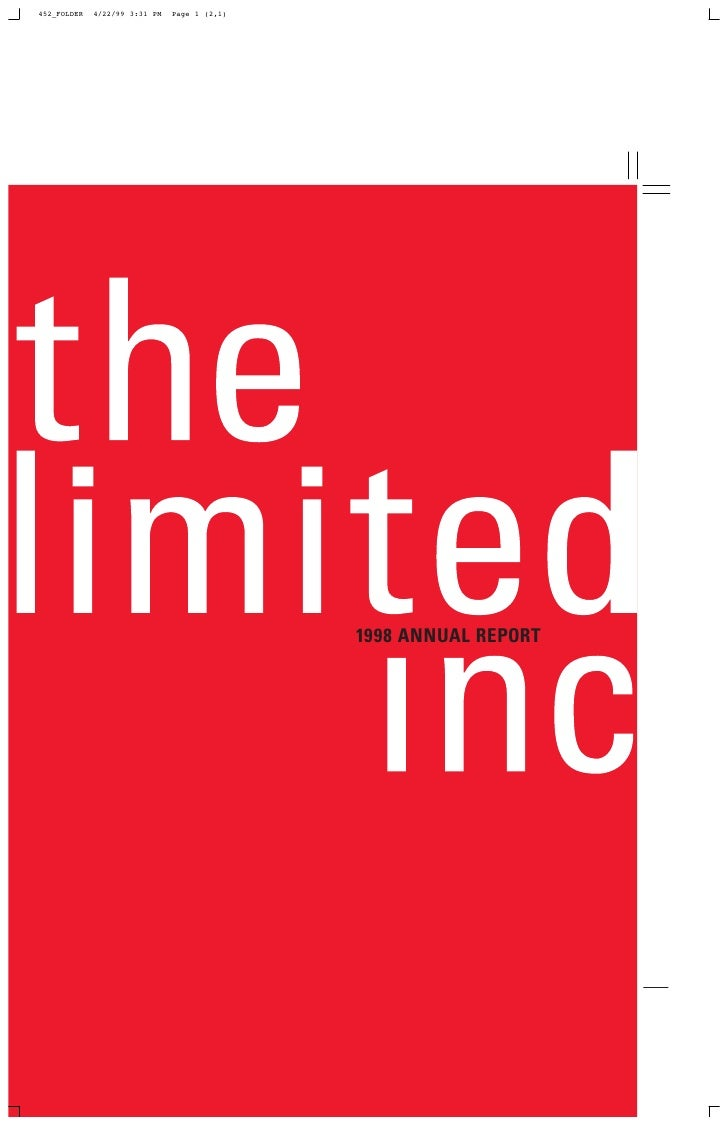 limited brands annual report 1998_full