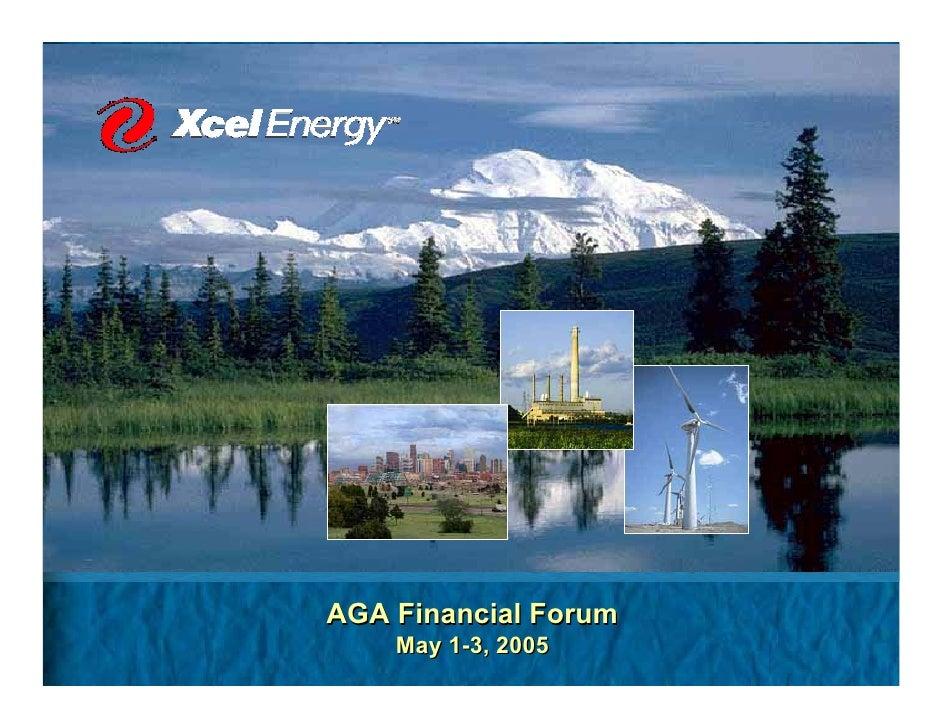 AGA Financial Forum     May 1-3, 2005