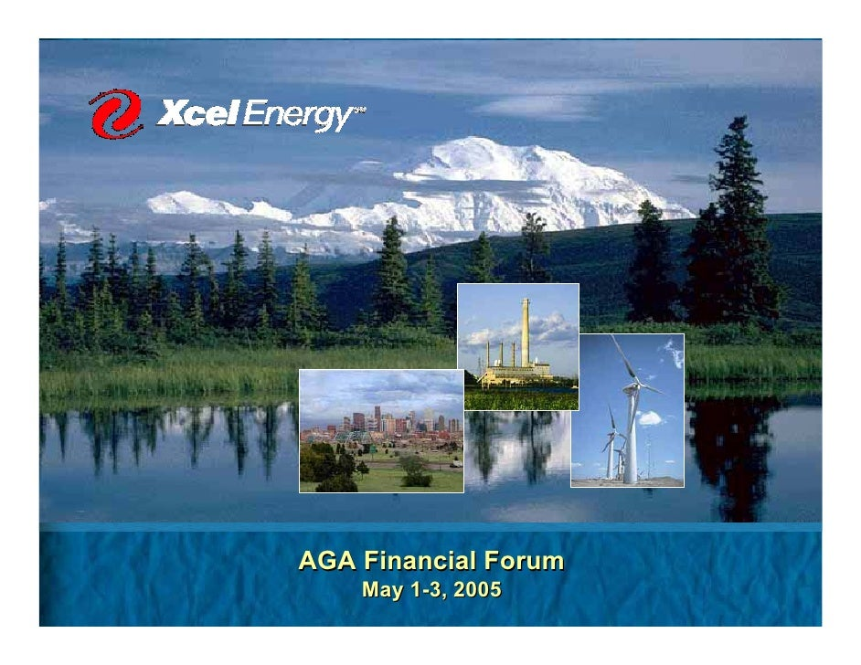 AGA Financial Forum     May 1-3, 2005