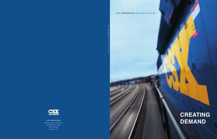 csx 2003 AR
