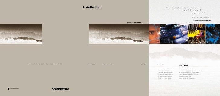 Arvinmeritor2000 Annual Report