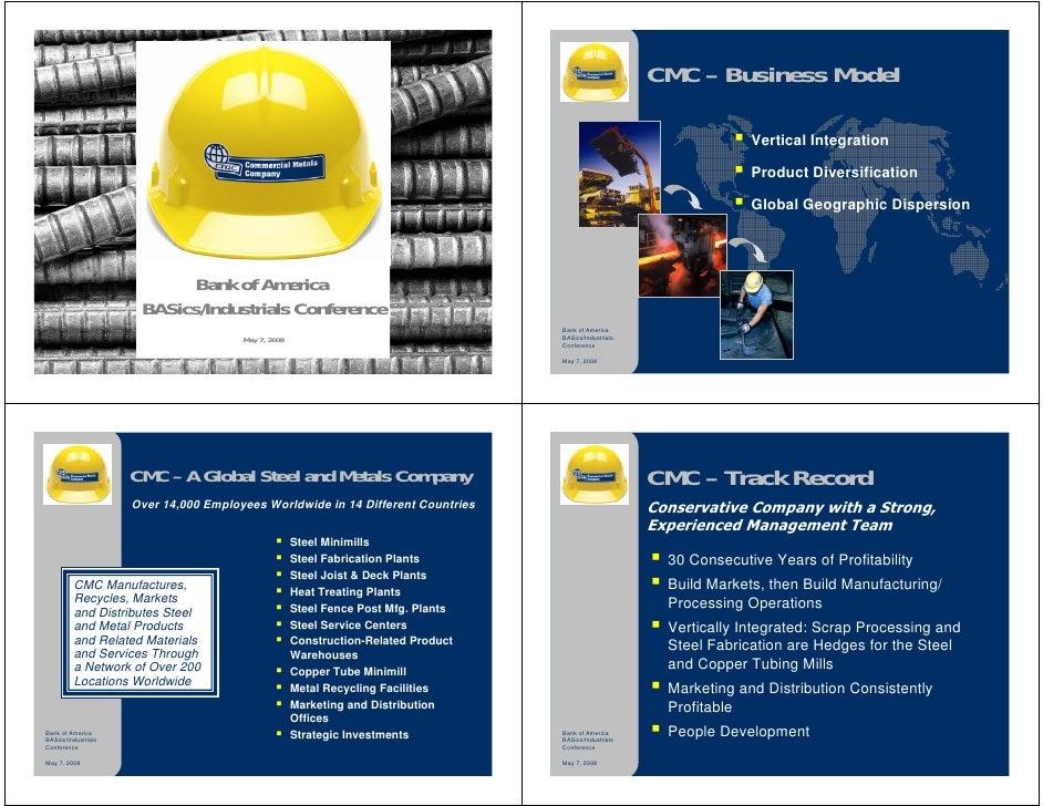CMC – Business Model                                                                                                      ...
