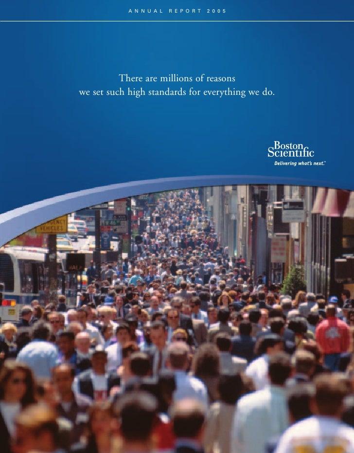 boston scientific2005_annual