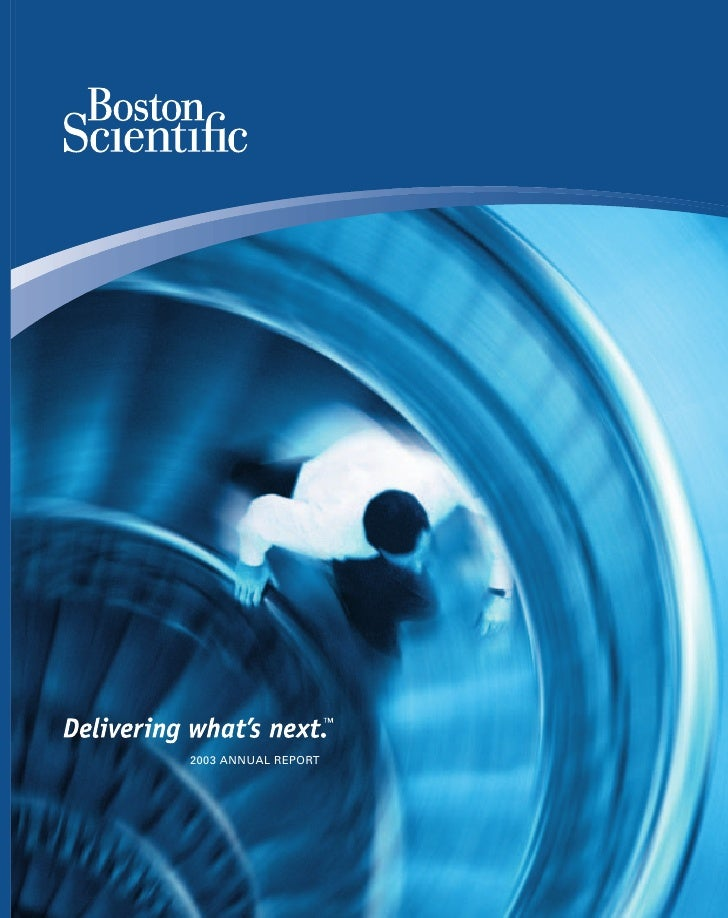 boston scientific2003_annual