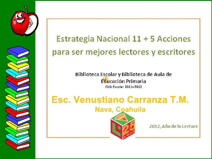 Esc. Venustiano Carranza T.M.         Nava, Coahuila