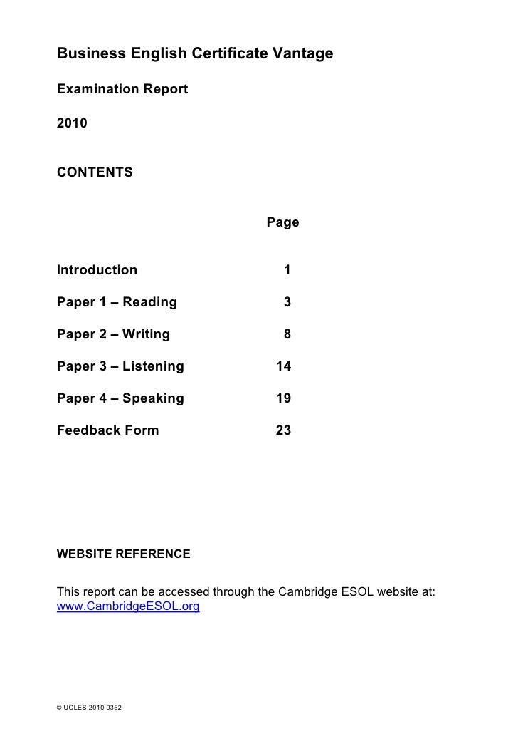 116079 bec vantage_exam_report_2010