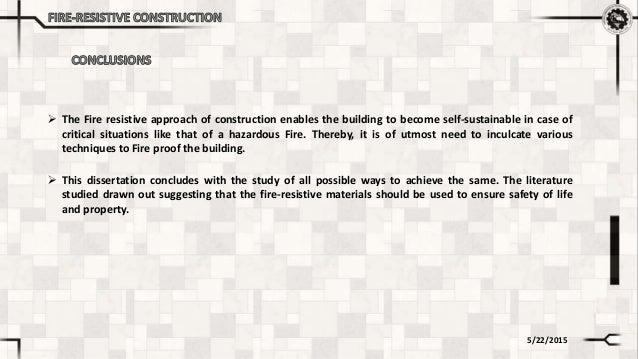 sustainable construction dissertation