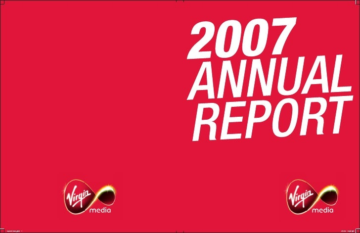 virgin media. 2007AnnualReportFinal
