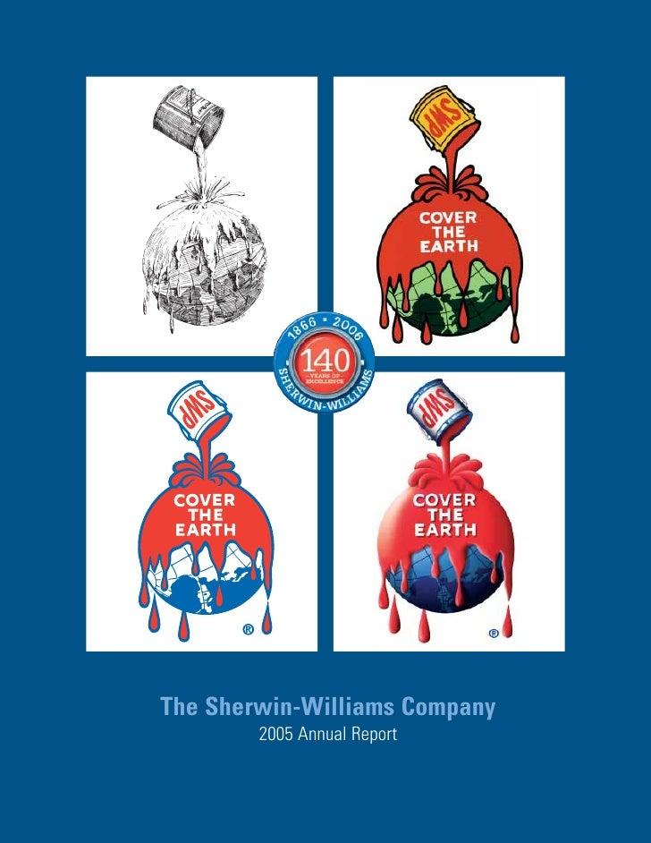 The Sherwin-Williams Company         2005 Annual Report