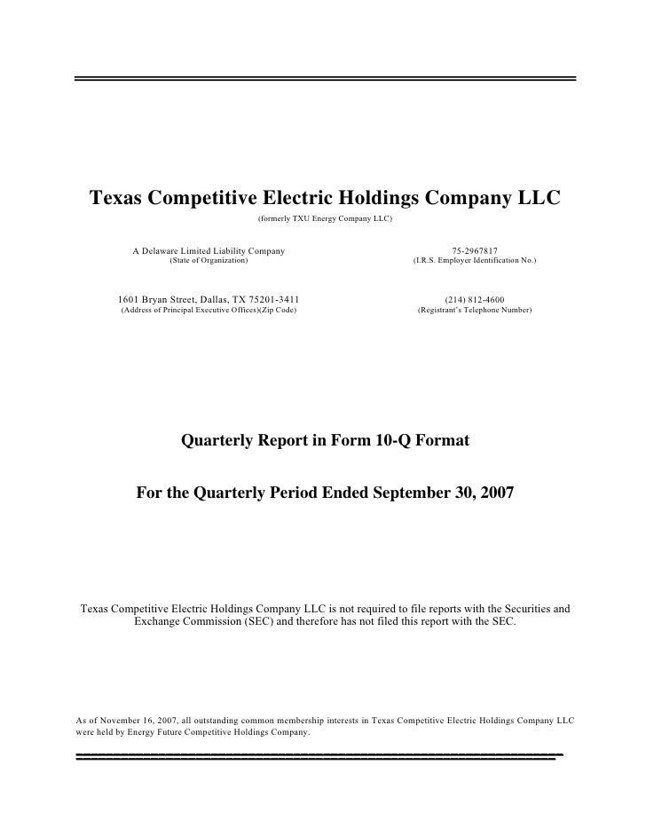 energy future holindings  TCEHC10Q