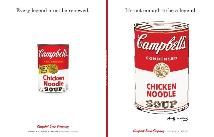 swot of campbell soup company