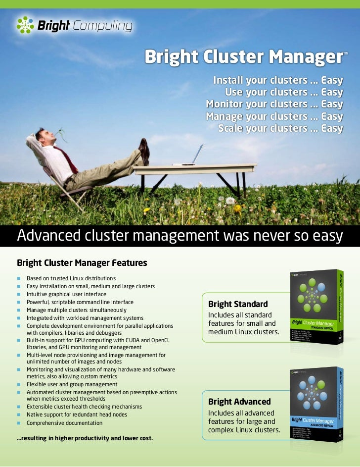Bright Computing                                                 Bright Cluster Manager                            ™      ...