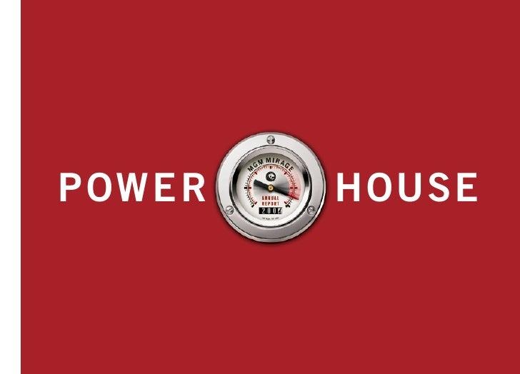HOUSE POWE R