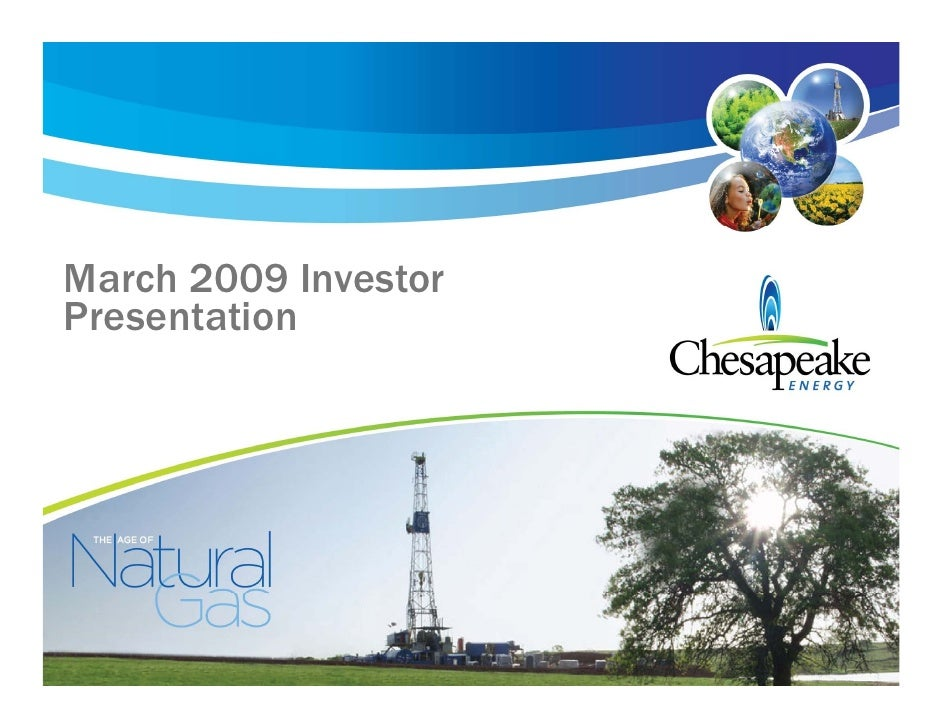March 2009 Investor Presentation
