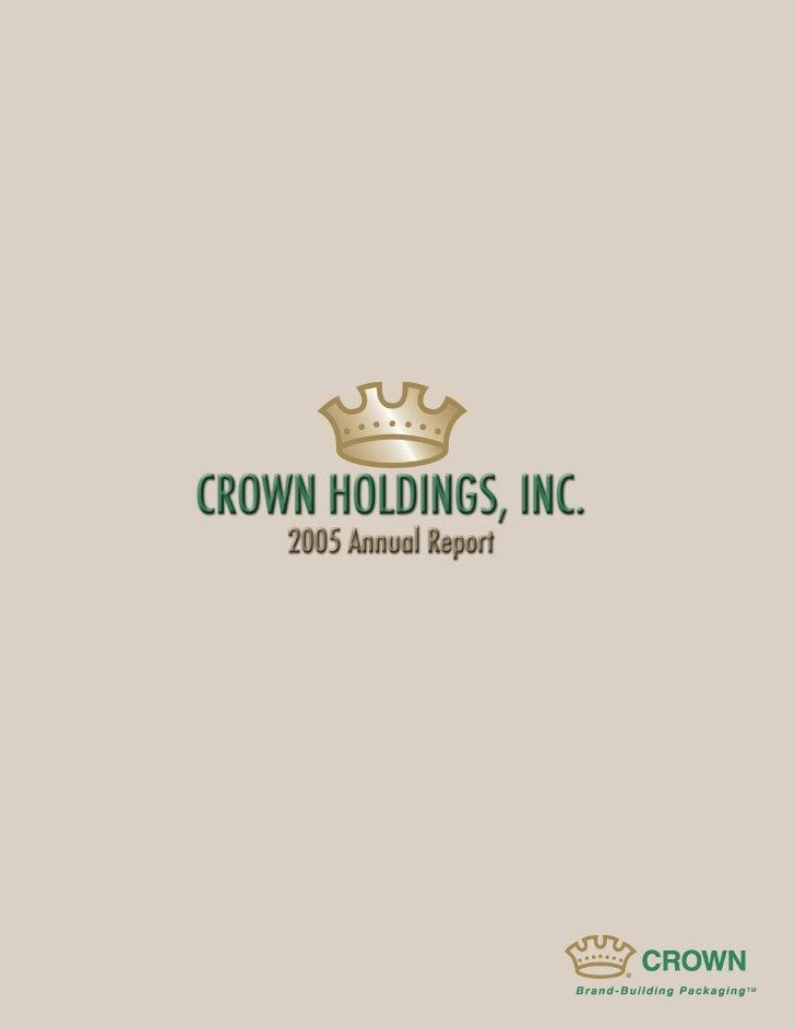 crown holdings 2005_AR