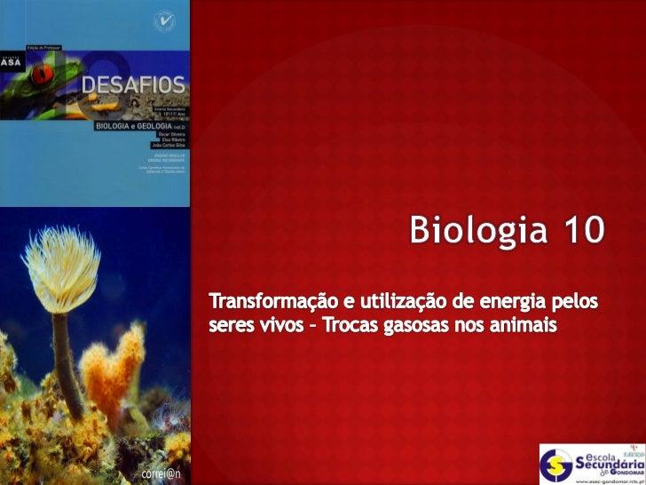 A vida dos organismos, depende de processos  que, a nível celular, asseguram por um lado  um fluxo constante de materiais ...