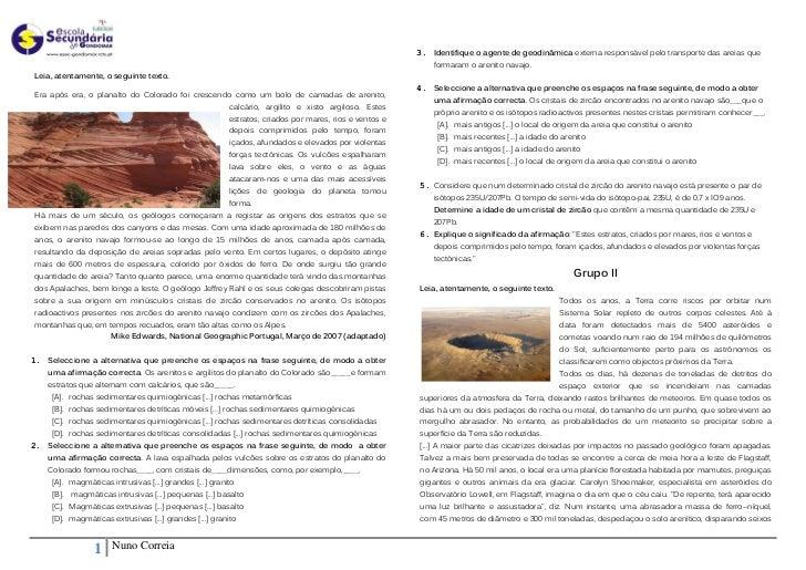 3. Identifique o agente de geodinâmica externa responsável pelo transporte das areias que                                 ...